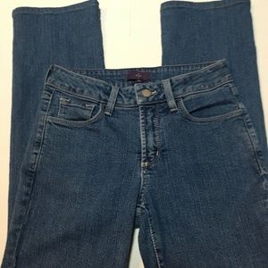 Not Your Daughters NYDJ Lift Tuck Bejeweled Jeans